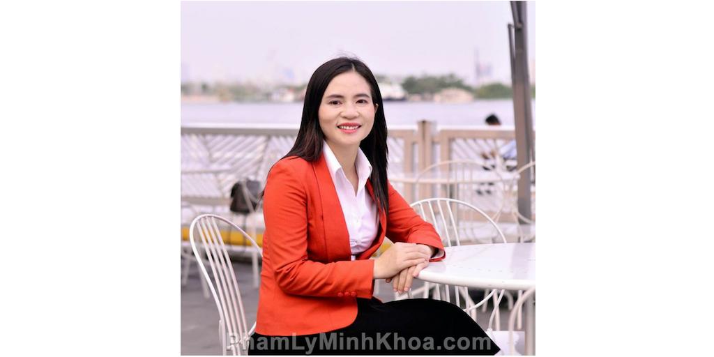 Chị Thái Thị Thọ và Phạm Lý Minh Khoa