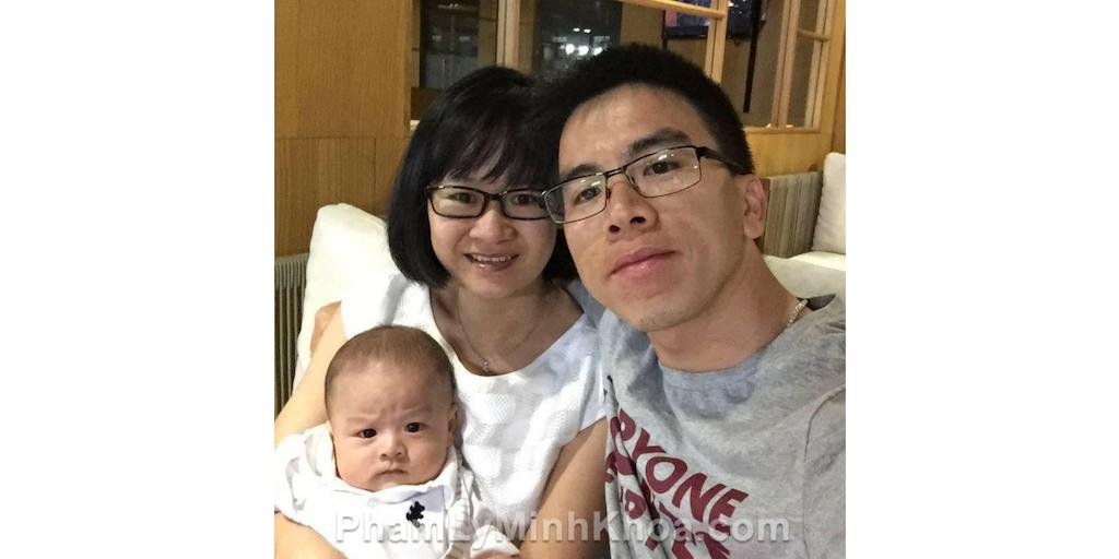 anh Nguyễn Ngọc Ưng và Pham Ly Minh Khoa